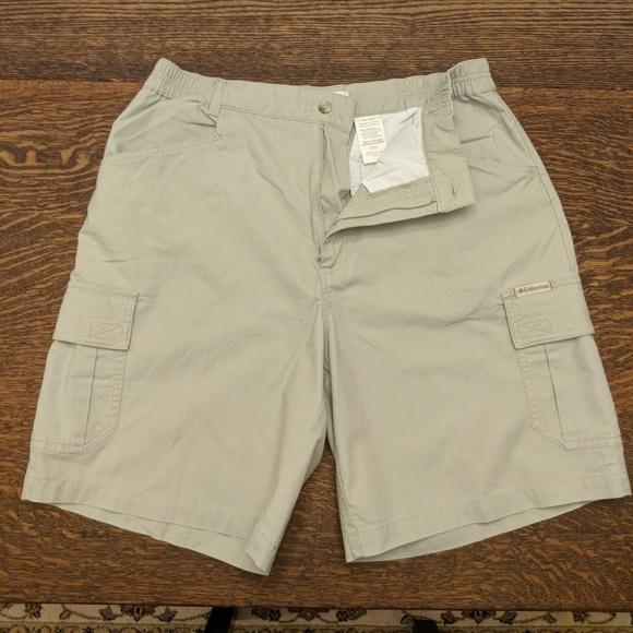 1622c186b3 Columbia Pants - Columbia Ladies Khaki Cargo Shorts